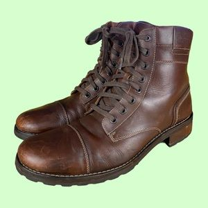 Wolverine 1000 Mile Leather Montgomery Brown Boots
